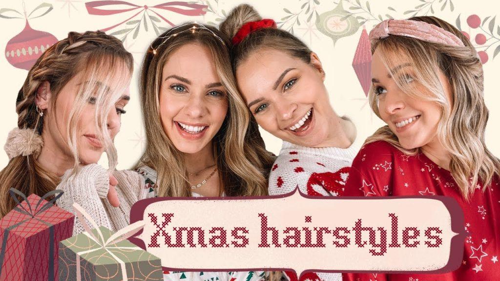 Christmas Morning Hairstyles – Kayley Melissa