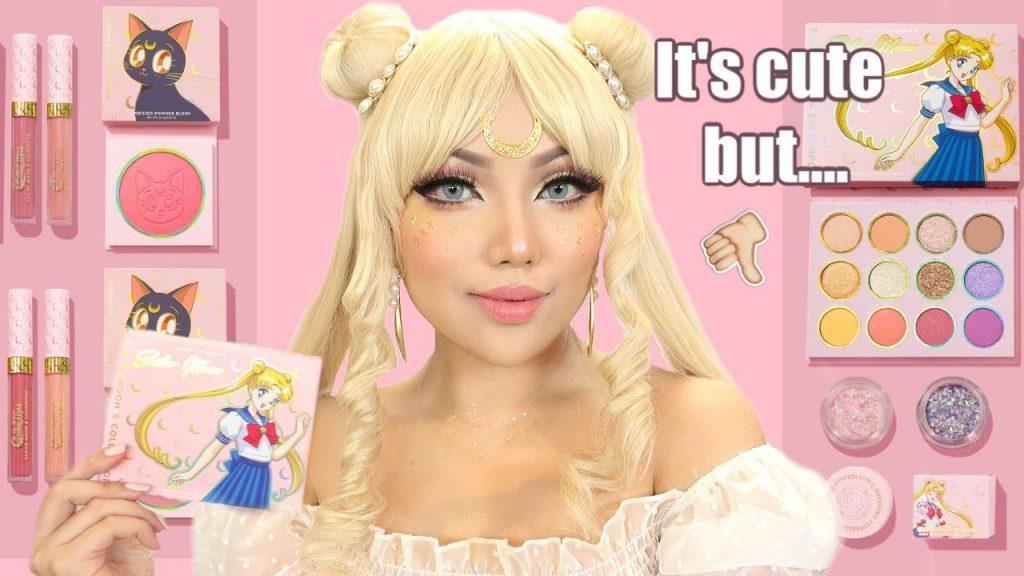 SAILOR MOON Queen Serenity Makeup Tutorial !!!