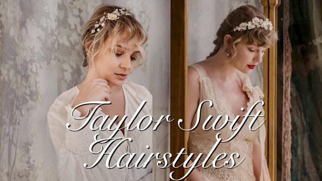 "Taylor Swift ""folklore"" & ""evermore"" Hair tutorial – Kayley Melissa"