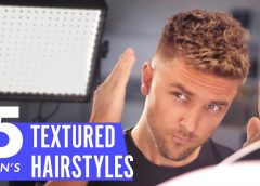 Top 5 Men's Textured Hairstyles | Short Hair Inspiration | Slikhaar TV